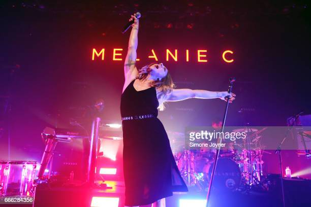 Melanie C performs live on stage at O2 Shepherd's Bush Empire on April 8 2017 in London England