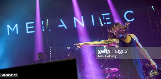 Melanie C performs on day 3 of The Isle of Wight festival at Seaclose Park on June 10 2017 in Newport Isle of Wight