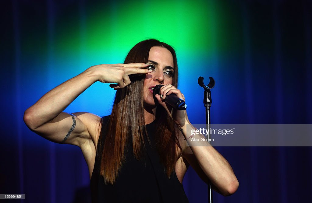 Melanie C performs on stage during the 31. Sportpresseball at Alte Oper on November 10, 2012 in Frankfurt am Main, Germany.