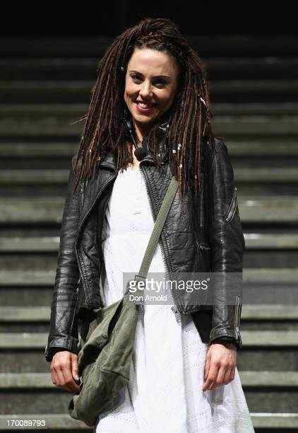 Melanie C poses at the 'Jesus Christ Superstar' production photo call at the Sydney Entertainment Centre on June 7 2013 in Sydney Australia