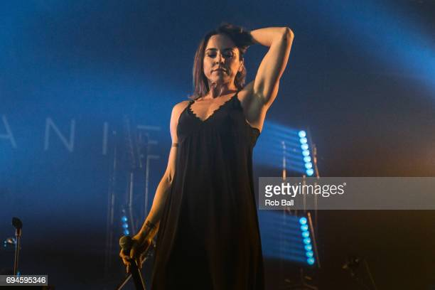 Melanie C real name Melanie Jayne Chisholm performs on day 3 of The Isle of Wight festival at Seaclose Park on June 10 2017 in Newport Isle of Wight