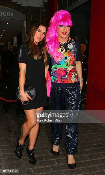 Melanie Chisholm at Disco night club on September 21 2013 in London England
