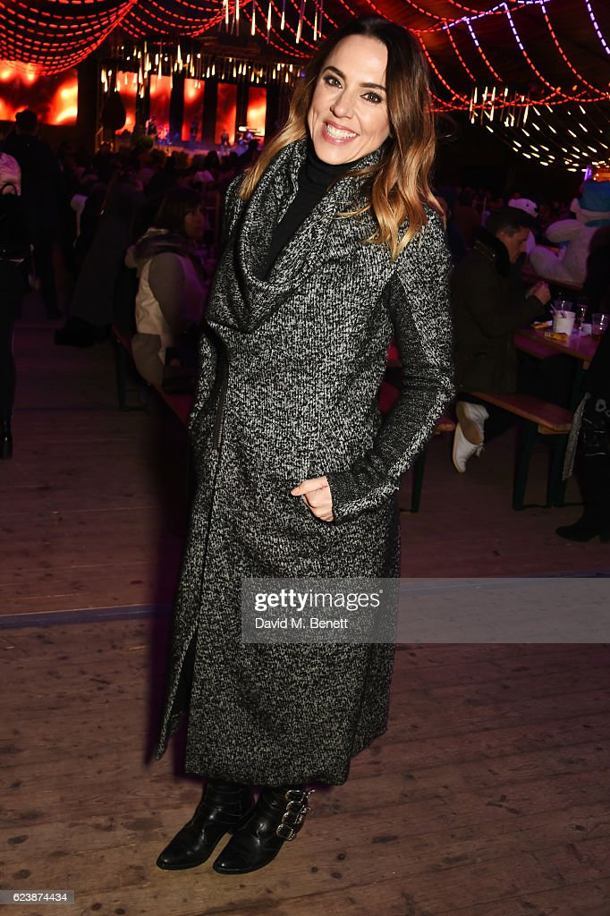 Melanie Chisholm attends a VIP Preview of Hyde Park's Winter Wonderland 2016 on November 17, 2016 in London, United Kingdom.