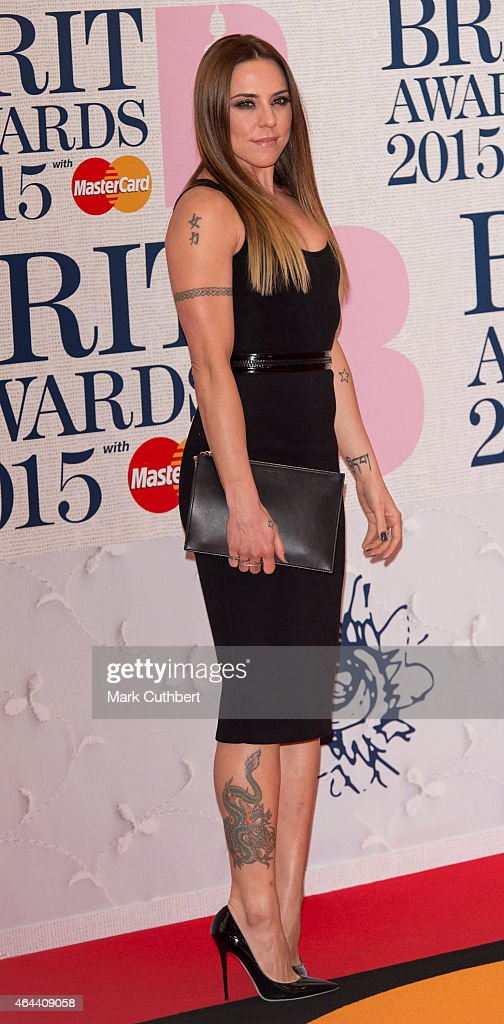 <a gi-track='captionPersonalityLinkClicked' href=/galleries/search?phrase=Melanie+Chisholm&family=editorial&specificpeople=159737 ng-click='$event.stopPropagation()'>Melanie Chisholm</a> attends the BRIT Awards 2015 at The O2 Arena on February 25, 2015 in London, England.