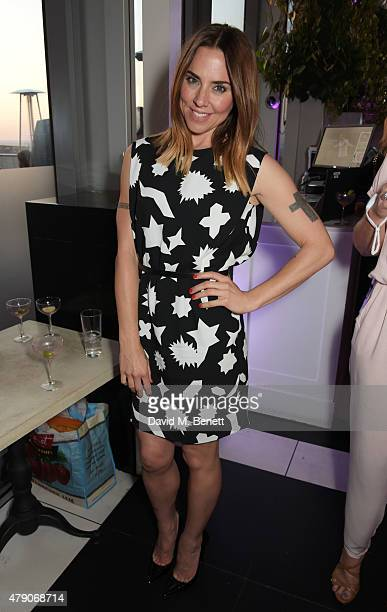 Melanie Chisholm attends the Future Dreams Midsummer Night Party at SushiSamba on June 30 2015 in London England