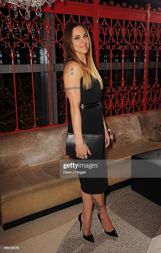 <a gi-track='captionPersonalityLinkClicked' href=/galleries/search?phrase=Melanie+Chisholm&family=editorial&specificpeople=159737 ng-click='$event.stopPropagation()'>Melanie Chisholm</a> attends the Sony after party for the BRIT Awards 2015 at SUSHISAMBA on February 25, 2015 in London, England.