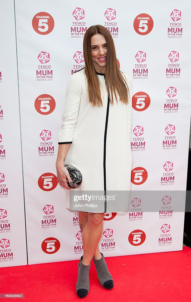Melanie Chisholm attends the Tesco Mum of the Year awards at The Savoy Hotel on March 3, 2013 in London, England.
