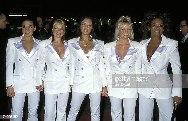 Melanie Chisholm Geri Halliwell Victoria Beckham Emma Bunton and Melanie Brown of the Spice Girls