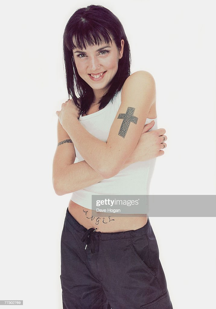 Melanie Chisholm (aka Mel C or Sporty Spice) of British pop group the Spice Girls, circa 1997.
