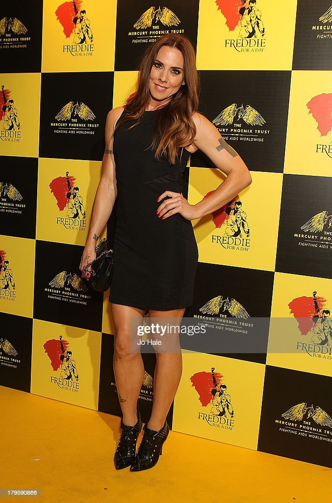 Melanie Chisolm attends the Freddie for a Day charity event in aid of The Mercury Phoenix Trust at The Savoy Hotel on September 5, 2013 in London, England.
