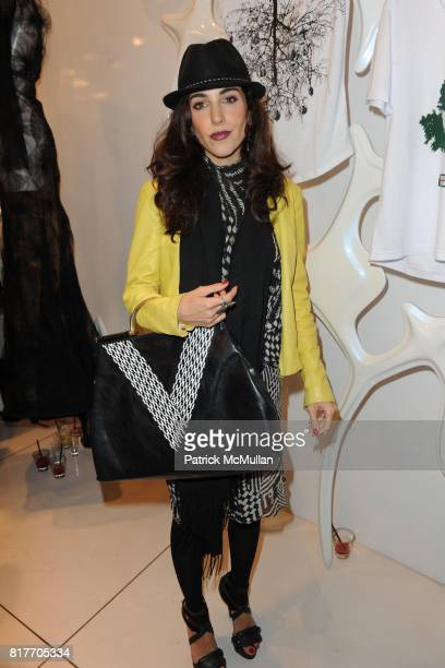 Melanie Choron attends Carlos Miele and Vogue Italia Celebrate Limited Edition of TShirts Designed by Lapo Elkann and Bianca Brandolini CONTACT SIPA...