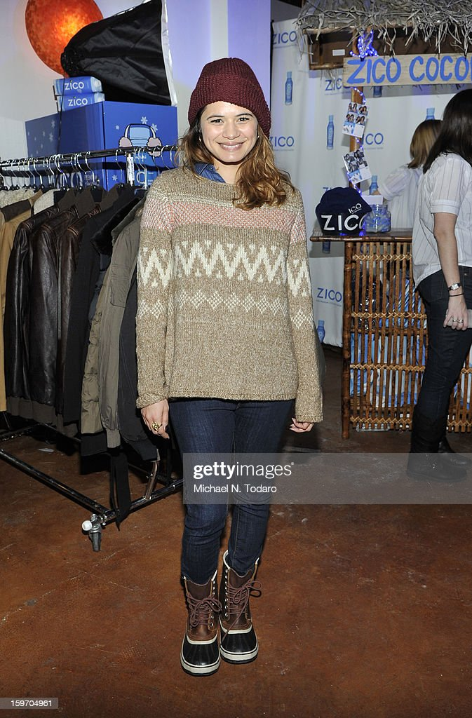 Melanie Diaz attends the TR Suites Daytime Lounge - Day 1 on January 18, 2013 in Park City, Utah.