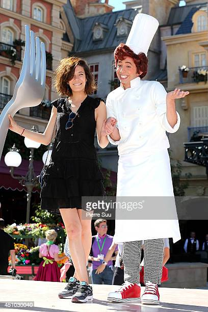 Melanie Doutey attends the launch of 'RatatouilleThe Adventure' at Disneyland Resort Paris on June 21 2014 in Paris France