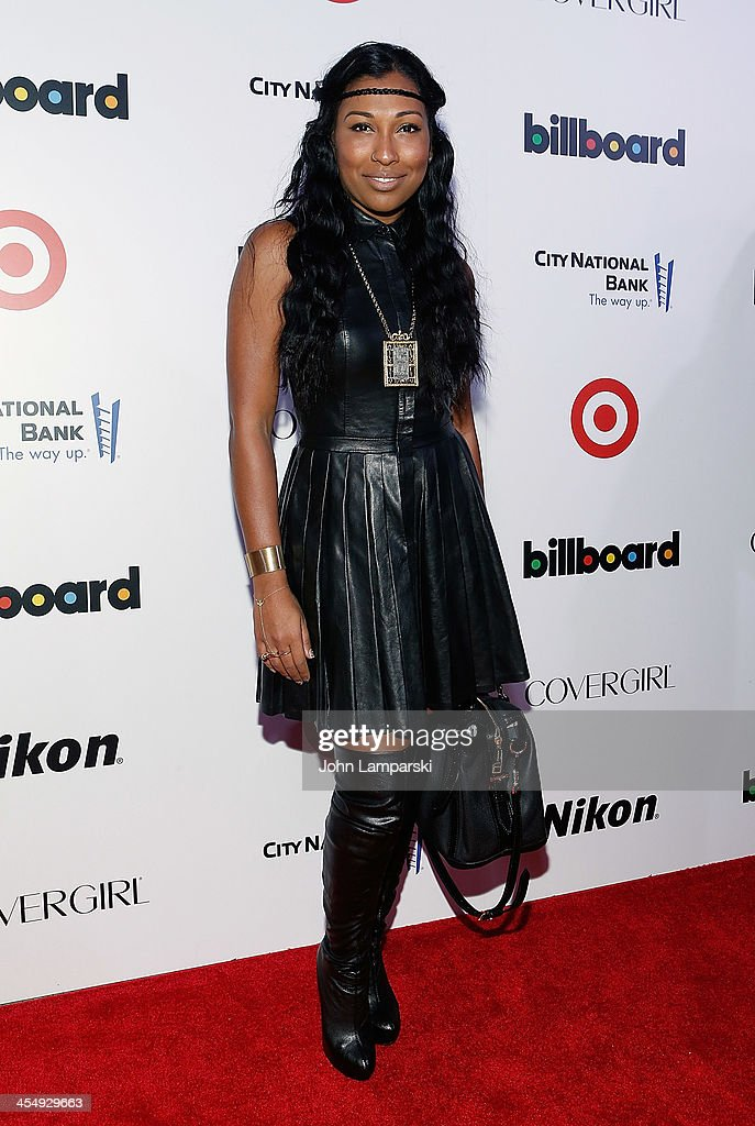 Melanie Fiona attends 2013 Billboard's Annual Women in Music Event at Capitale on December 10 2013 in New York City
