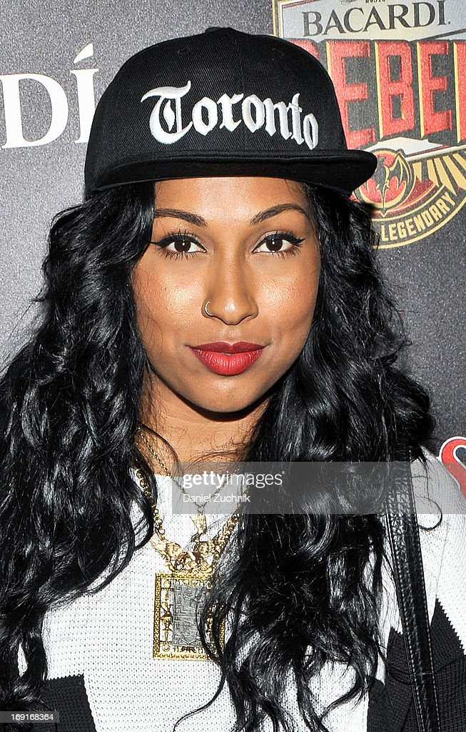 <a gi-track='captionPersonalityLinkClicked' href=/galleries/search?phrase=Melanie+Fiona&family=editorial&specificpeople=5543211 ng-click='$event.stopPropagation()'>Melanie Fiona</a> attends the 2013 Bacardi Rebels Event Hosted By Rolling Stone at Roseland Ballroom on May 20, 2013 in New York City.