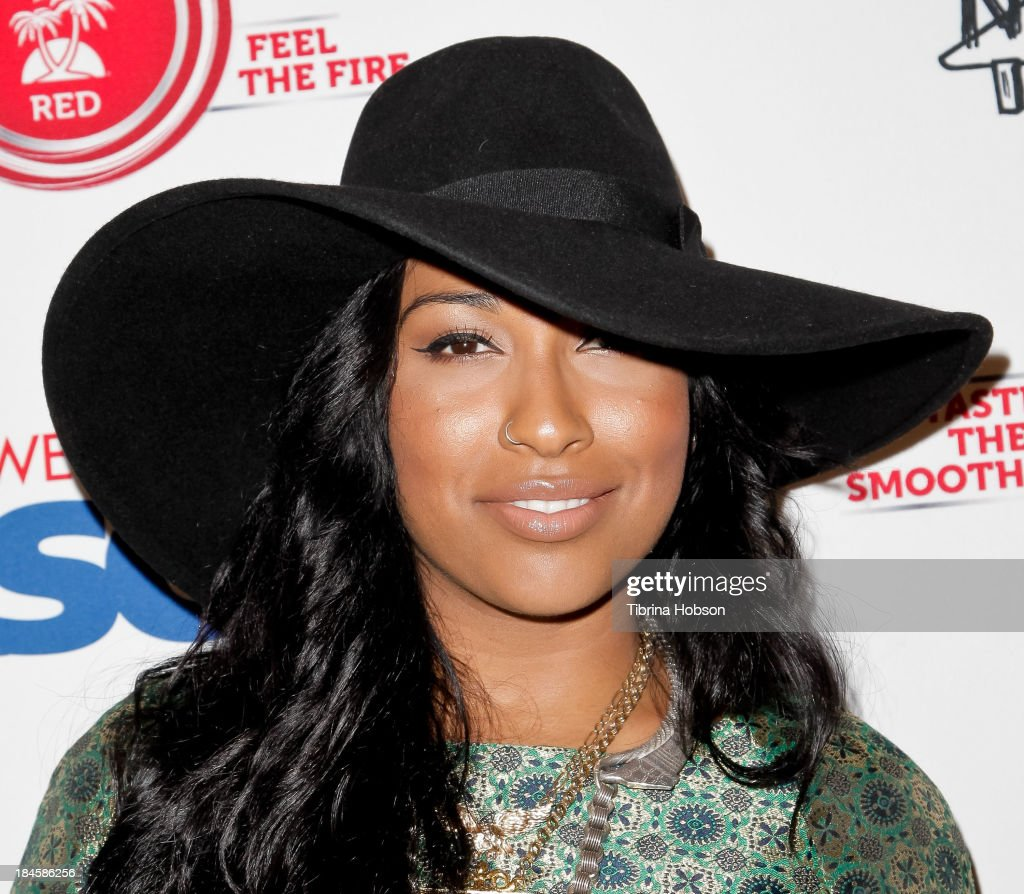 Melanie Fiona attends the ASCAP's 5th annual 'Women Behind The Music' series at Bardot on October 8 2013 in Los Angeles California