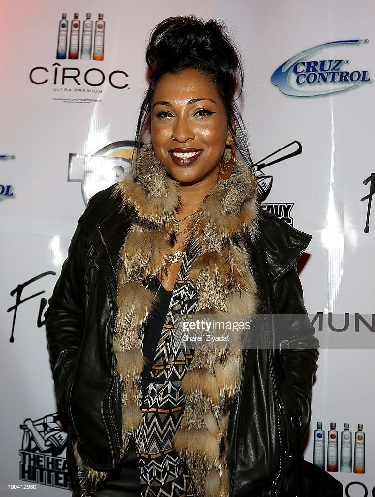 <a gi-track='captionPersonalityLinkClicked' href=/galleries/search?phrase=Melanie+Fiona&family=editorial&specificpeople=5543211 ng-click='$event.stopPropagation()'>Melanie Fiona</a> attends the birthday celebration of DJ Enuff at The Griffin on January 30, 2013 in New York City.