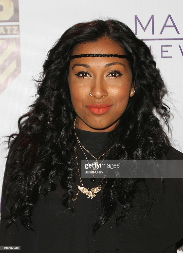 <a gi-track='captionPersonalityLinkClicked' href=/galleries/search?phrase=Melanie+Fiona&family=editorial&specificpeople=5543211 ng-click='$event.stopPropagation()'>Melanie Fiona</a> attends the Bronx Charter School for the Arts 2013 art auction at Marquee on May 14, 2013 in New York City.
