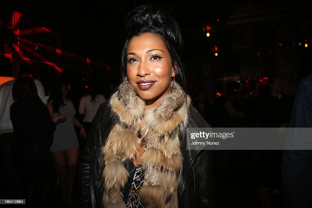 Melanie Fiona attends the DJ Enuff Birthday Celebration at The Griffin on January 30, 2013 in New York City.