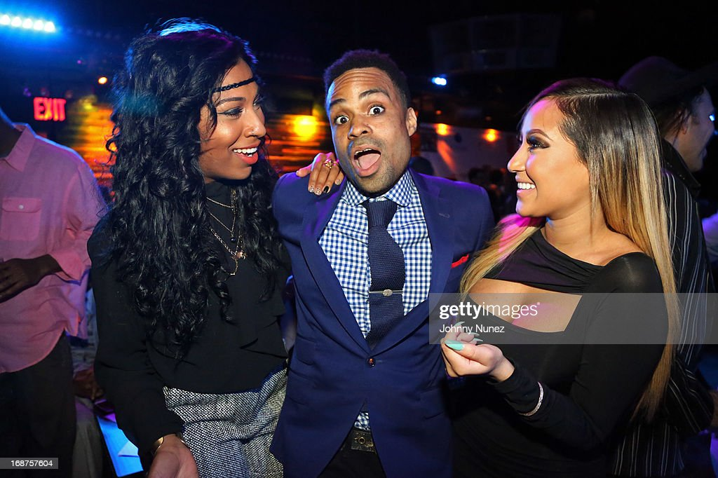 <a gi-track='captionPersonalityLinkClicked' href=/galleries/search?phrase=Melanie+Fiona&family=editorial&specificpeople=5543211 ng-click='$event.stopPropagation()'>Melanie Fiona</a>, <a gi-track='captionPersonalityLinkClicked' href=/galleries/search?phrase=Bilal+-+M%C3%BAsico&family=editorial&specificpeople=4123409 ng-click='$event.stopPropagation()'>Bilal</a>, and <a gi-track='captionPersonalityLinkClicked' href=/galleries/search?phrase=Adrienne+Bailon&family=editorial&specificpeople=540286 ng-click='$event.stopPropagation()'>Adrienne Bailon</a> attend the Bronx Charter School for the Arts 2013 art auction at Marquee on May 14, 2013 in New York City.