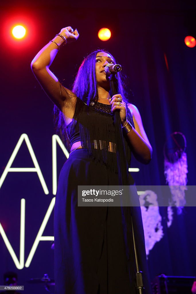 Melanie Fiona performs as Verizon celebrates consumers with 'The Big Payoff' featuring a special exclusive performance by Melanie Fiona and expert...