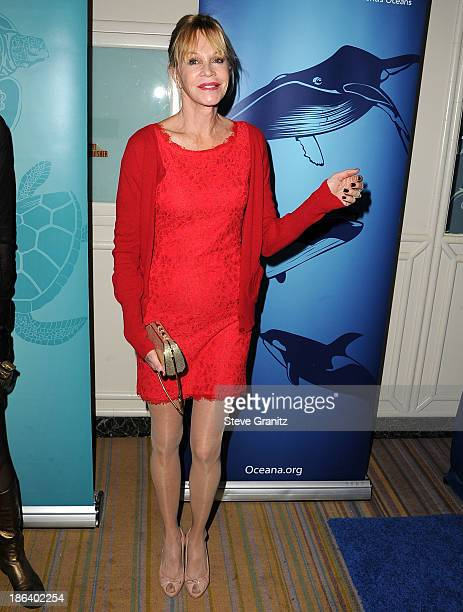 Melanie Griffith arrives at the Oceana Partners Award Gala With Former Secretary Of State Hillary Rodham Clinton and HBO CEO Richard Pleple at Regent...