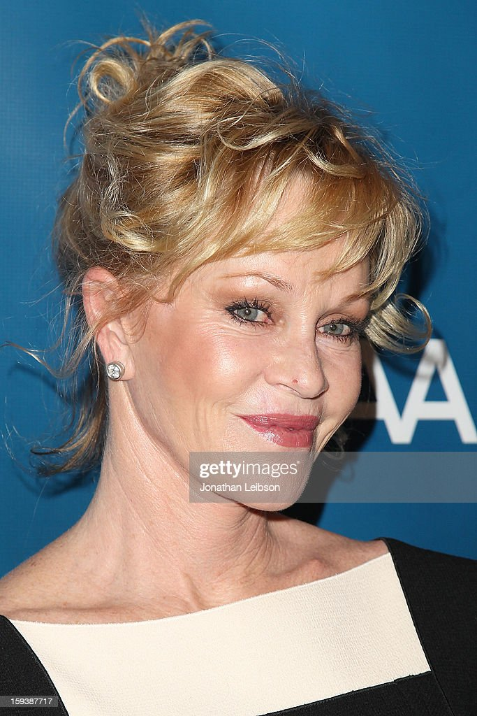 Melanie Griffith attends the 2nd Annual Sean Penn & Friends Help Haiti Home Presented By Giorgio Armani - A Gala To Benefit J/P HRO - Arrivals at Montage Beverly Hills on January 12, 2013 in Beverly Hills, California.