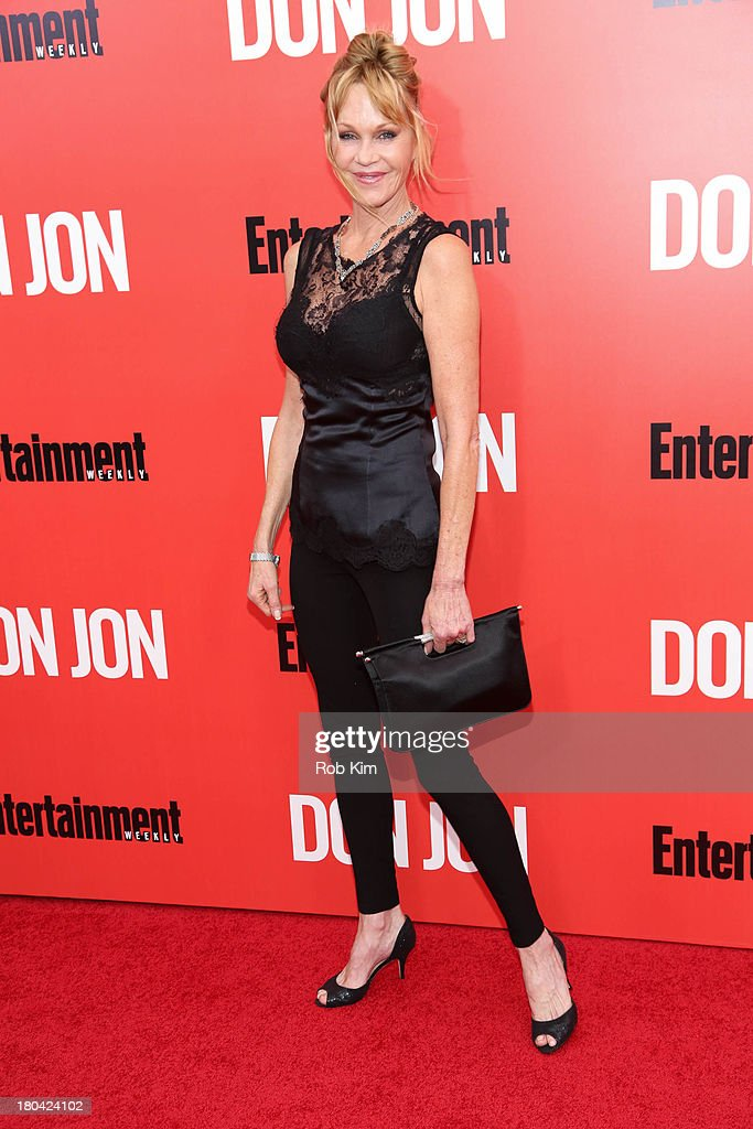 <a gi-track='captionPersonalityLinkClicked' href=/galleries/search?phrase=Melanie+Griffith&family=editorial&specificpeople=171682 ng-click='$event.stopPropagation()'>Melanie Griffith</a> attends the 'Don Jon' New York premiere at SVA Theater on September 12, 2013 in New York City.