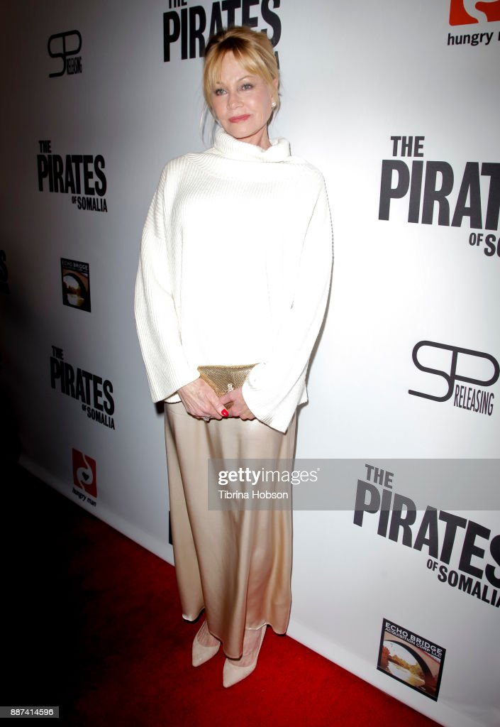 Melanie Griffith attends the premiere of 'The Pirates Of Somalia' at TCL Chinese 6 Theatres on December 6, 2017 in Hollywood, California.