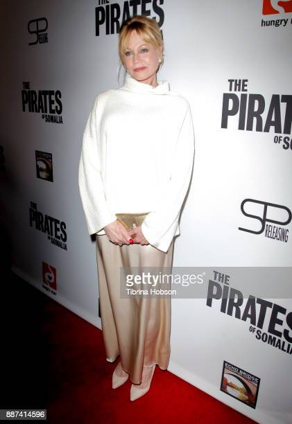 Melanie Griffith attends the premiere of 'The Pirates Of Somalia' at TCL Chinese 6 Theatres on December 6 2017 in Hollywood California