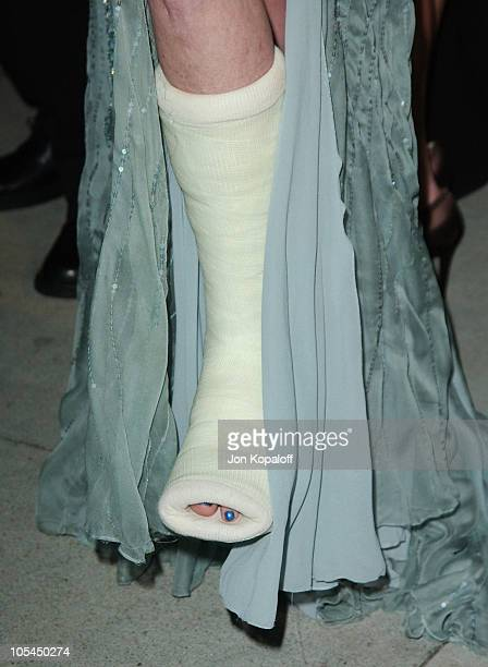 Melanie Griffith during 2005 Vanity Fair Oscar Party at Mortons in Los Angeles California United States