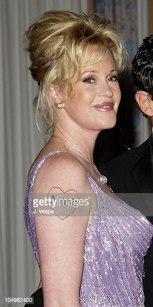 Melanie Griffith during Cannes 2002 'Femme Fatale' Dinner at Le Dome Carlton Hotel in Cannes France