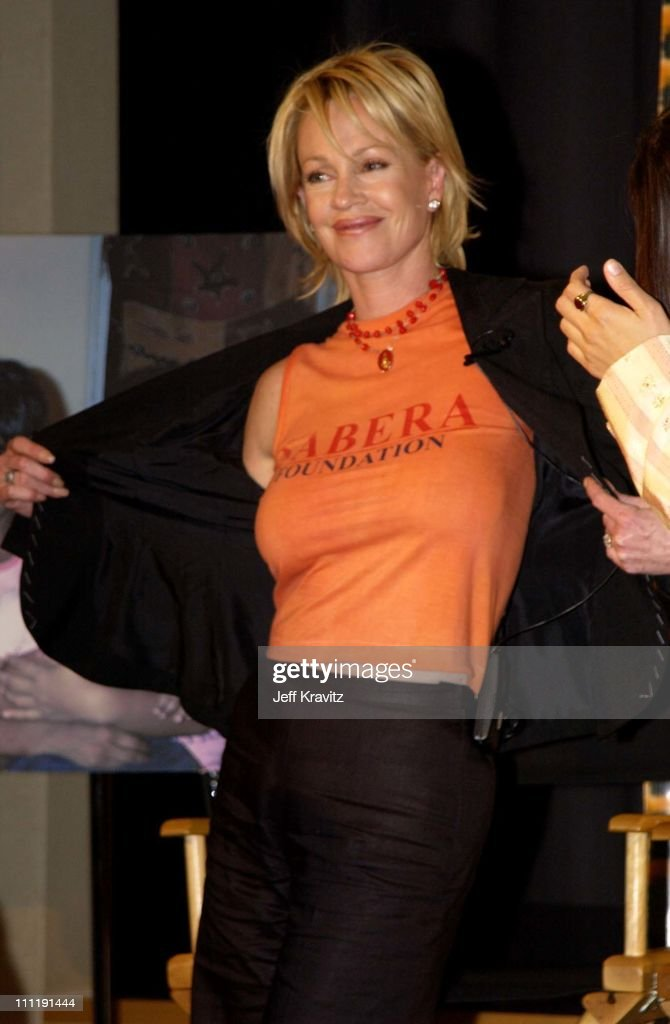 Melanie Griffith during Sabera Foundation U.S. Launch at Creative Artist's Agency in Beverly Hills, California, United States.
