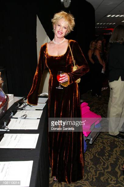 Melanie Griffith during The 10th Annual Race to Erase MS Inside at Century Plaza Hotel in Century City California United States