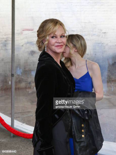 Melanie Griffith is seen on February 26 2017 in Los Angeles California