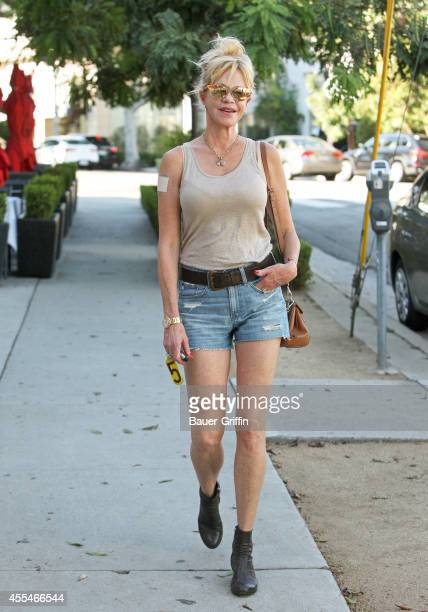 Melanie Griffith is seen on September 14 2014 in Los Angeles California
