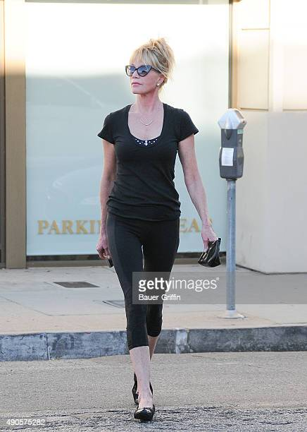 Melanie Griffith is seen on September 29 2015 in Los Angeles California