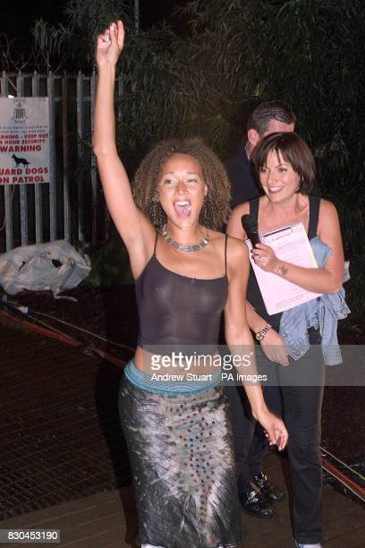 Melanie Hill with Big Brother hostess tv presenter Davina MacCall Mel became the seventh contestant to be evicted from the Big Brother house after...