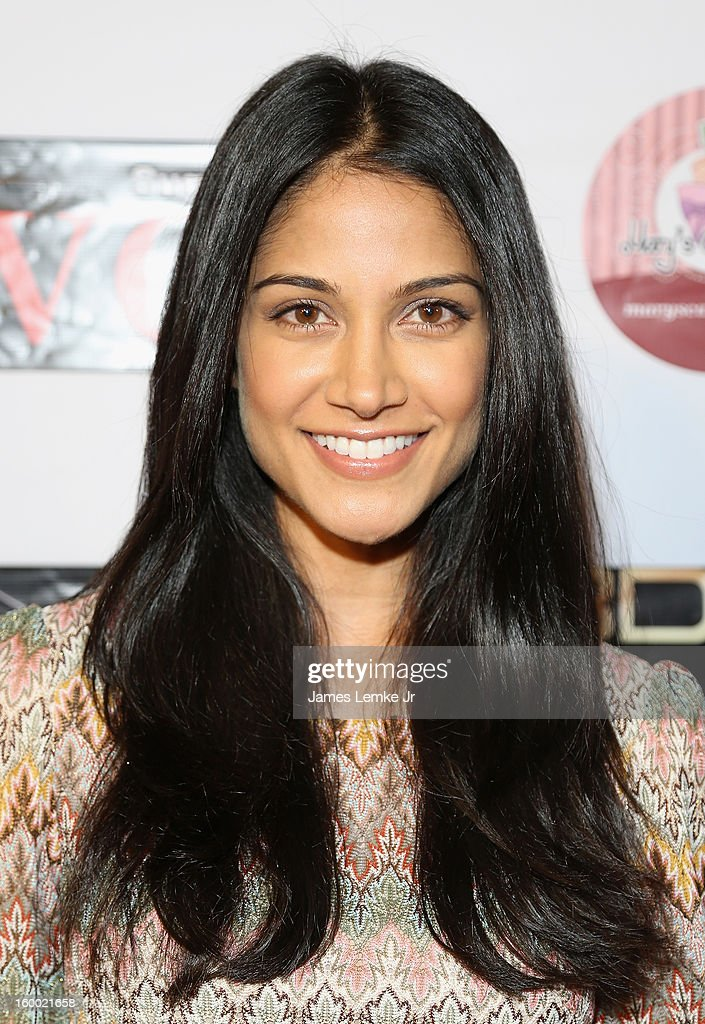 Melanie Kannokada attends the 'Vishwaroopam' premiere held at the Pacific Theaters at the Grove on January 24, 2013 in Los Angeles, California.