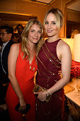 Melanie Laurent and Dianna Argon attend the Tory Burch Paris Flagship store opening on July 7 2015 in Paris France