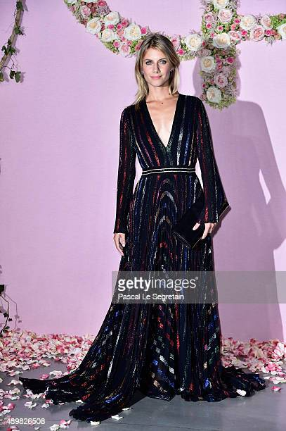 Melanie Laurent attends a photocall during The Ballet National de Paris Opening Season Gala at Opera Garnier on September 24 2015 in Paris France