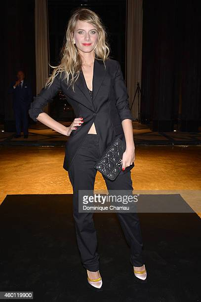 Melanie Laurent attends Dior Dinner held at Mandarin Oriental Hotel as part of the 14th Marrakech International Film Festival on December 7 2014 in...