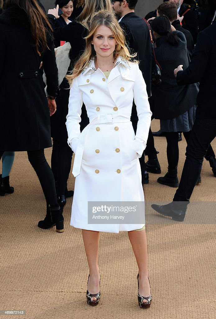 <a gi-track='captionPersonalityLinkClicked' href=/galleries/search?phrase=Melanie+Laurent&family=editorial&specificpeople=2721978 ng-click='$event.stopPropagation()'>Melanie Laurent</a> attends the Burberry Prorsum show at London Fashion Week AW14 at Kensington Gardens on February 17, 2014 in London, England.