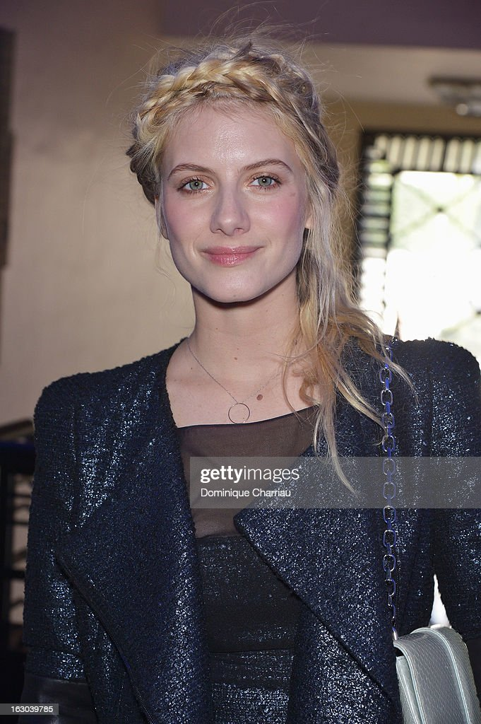 Melanie Laurent attends the Maxime Simoens Fall/Winter 2013 Ready-to-Wear show as part of Paris Fashion Week on March 3, 2013 in Paris, France.