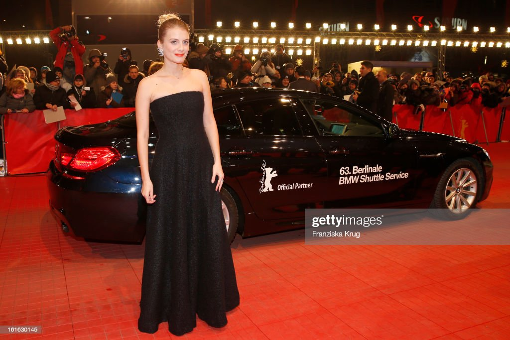 Melanie Laurent attends the 'Night Train To Lisbon' Premiere - BMW at the 63rd Berlinale International Film Festival at Berlinale Palast on February 13, 2013 in Berlin, Germany.