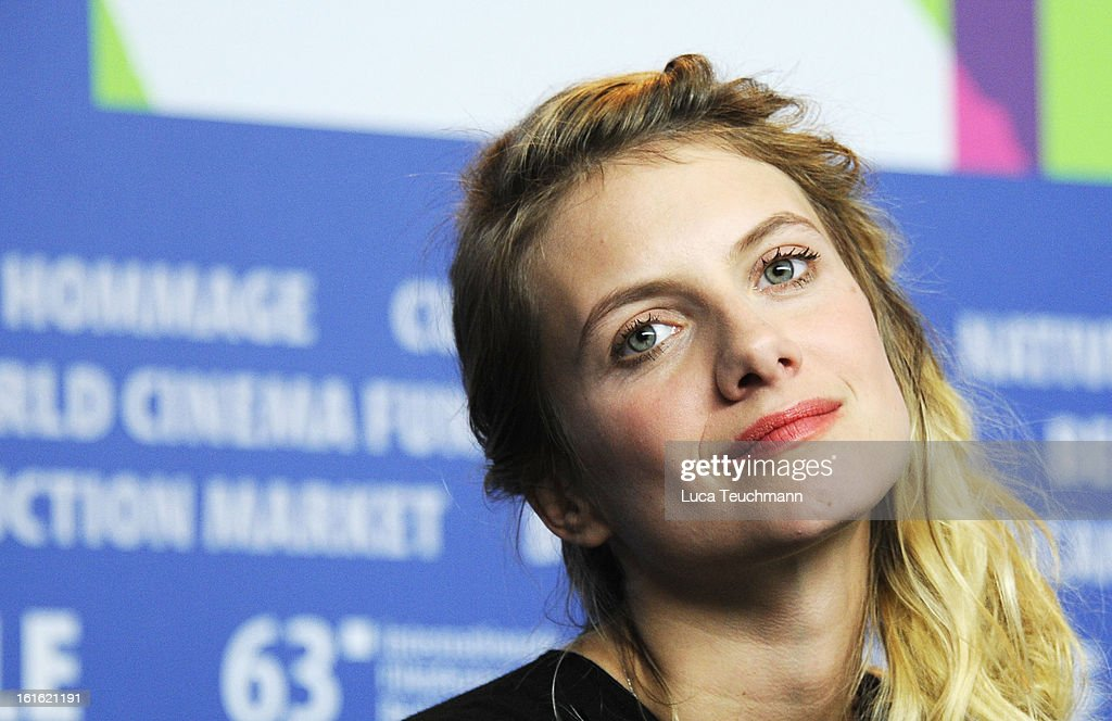 Melanie Laurent attends the 'Night Train to Lisbon' Press Conference during the 63rd Berlinale International Film Festival at the Grand Hyatt Hotel on February 13, 2013 in Berlin, Germany.