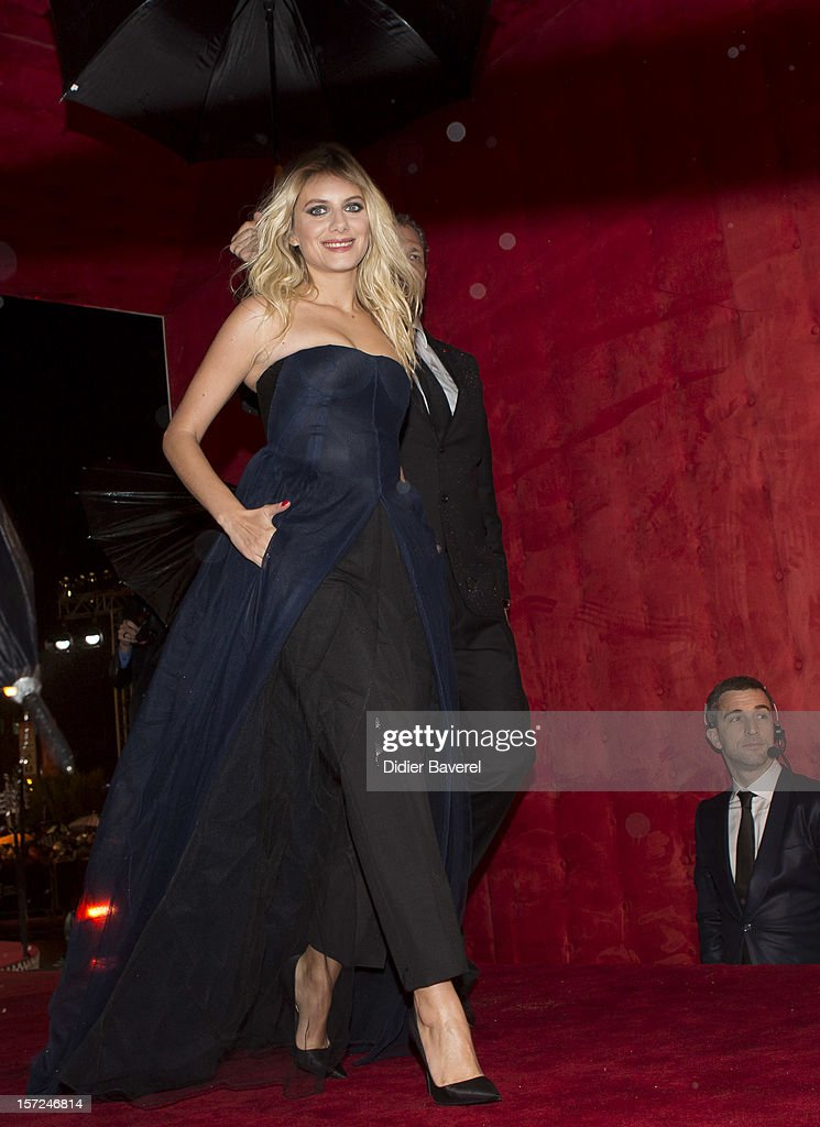 Melanie Laurent attends the opening ceremony of the 12th Marrakech international Film Festival on November 30, 2012 in Marrakech, Morocco.