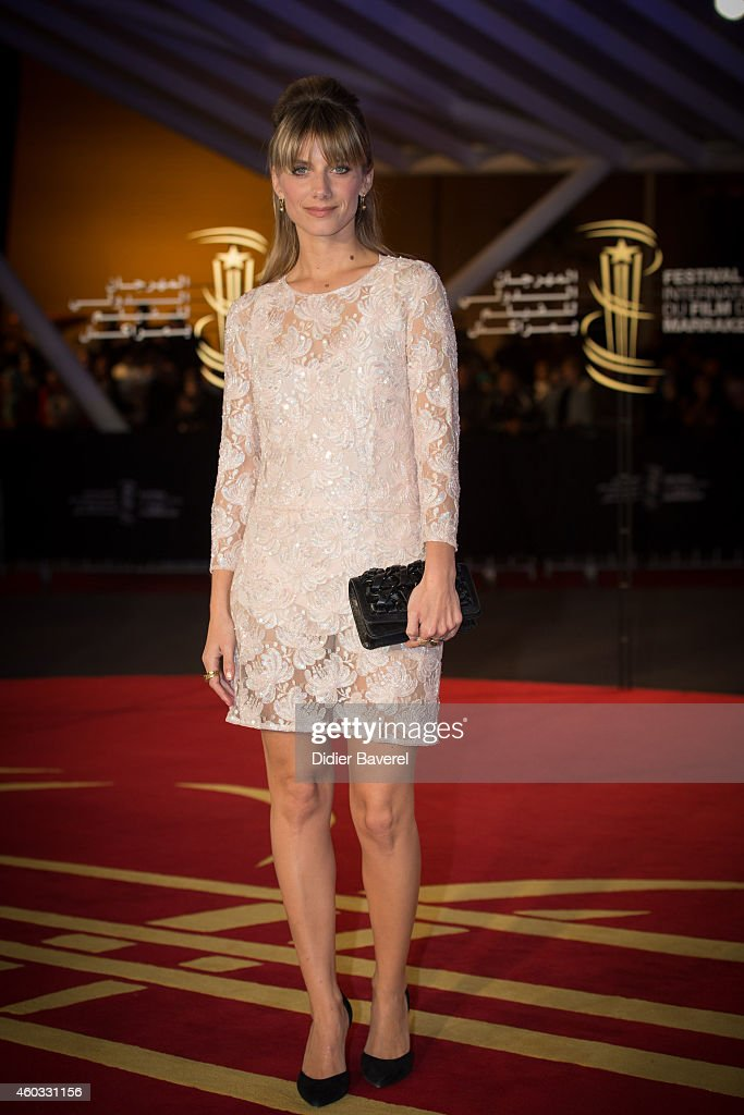 Melanie Laurent attends the Timbuktu Premiere and moroccans producers Khadija Alami and Zakaria Alaoui Tribute during the 14th Marrakech...
