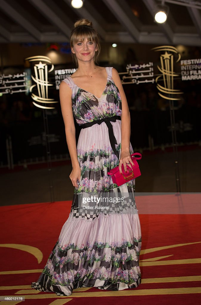 Melanie Laurent attends the tribute to Japanese cinema at 14th Marrakech International Film Festival on December 9 2014 in Marrakech Morocco