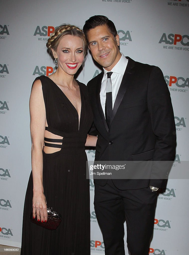 Melanie Lazenby and Fredrik Eklund attend the 16th Annual ASPCA Bergh Ball at The Plaza Hotel on April 11, 2013 in New York City.